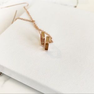 Eddie Borgo Rose Gold Long Earrings